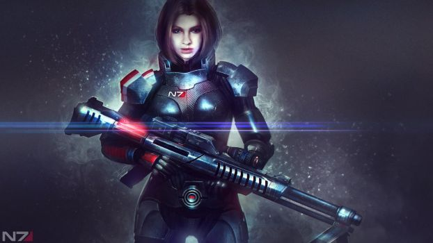 Mass Effect: Alexandra Shepard - RLP Commisssion by Eddy-Shinjuku