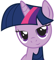 Dat Eyes Twilight Sparkle by SlyFoxCl