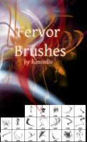 Fervor Brushes by kanonliv