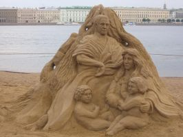 Sand sculpture 1 by RitaFromRussia
