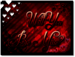 {Will you be Mine?} late valentines day art :P by epicitaly