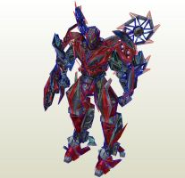 TF4 Android Stinger Papercraft by PapercraftKing