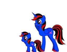Double Anfrisio Junior the Alicorn by Anfrisiojunior