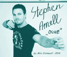 Stephen Amell 'Ollie' by MrsCromwell