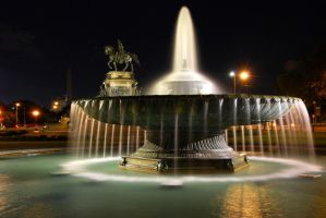Fountain Study by Ice-Beam