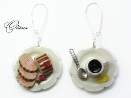 Earrings Sweet Morning 1 by OrionaJewelry