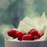 Raspberries by JeanFan