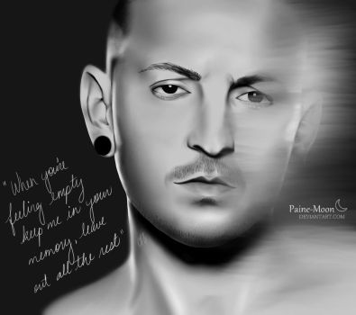 In memory of Chester Bennington by Paine-Moon