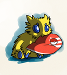 01 Favorite Bug Pokemon - Joltik by GreeneFlygon