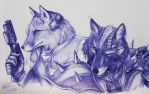 McCloud n O'Donnell by TixieLix