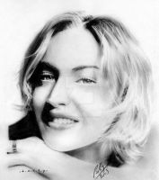 Kate Winslet Portrait II by Bobby-Sandhu