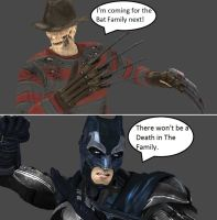 Injustice: Freddy Krueger vs Batman (UPDATED) by xXTrettaXx