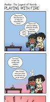 The Legend of Korroh Mini Comic by maryfgr23