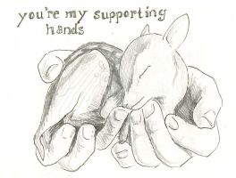 You're My Supporting Hands by atnason