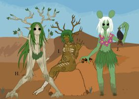 Desert Dryads by Mr-Culexus