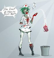 Zombie Nurse by Sodano
