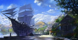 Fantasy-Queenstown finished by Ultraman0716chen