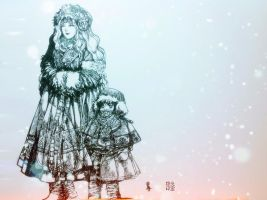 [Sketching WOW]Snowing Northernd by Rosalind-WT