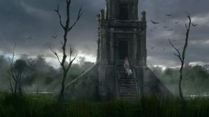 A visit to the swamp temple by Silberius