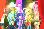 My Little Band Pony by Jumbreon