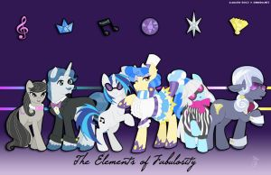 [MLP] The Elements of Fabulousity by CheckerboardPrincess