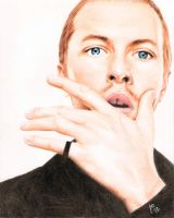 Chris Martin by JenuoneArt