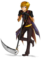 Solia Commission: Grim Reaper by Lollyst