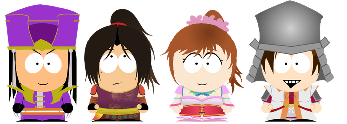 South Park Warriors by CrazyInsaneJess