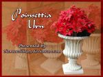 Poinsettia Urn PACK by themuseslibrary