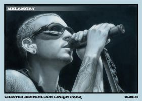Chester Bennington by FairyARTos