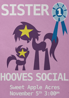 Sister hooves social by Skeptic-Mousey