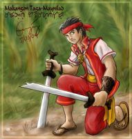 Makangon, Warrior of Maynilad by ultorgabrihel