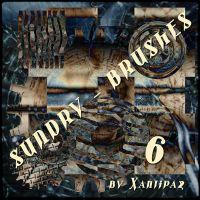 Sundry Brushes 6 by Xantipa2-Stock