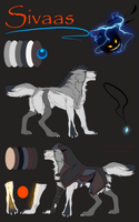 Sivaas Reference Sheet by Diivon