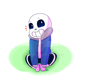Little Marshmallow by ludmilabb2