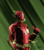 The Flash : Elseworld by skullfrankie