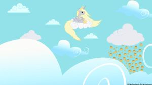 Princess Derpy and the Muffin Rain by NicolasDominique