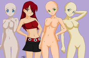 ME and randoms by theanimeluva66