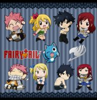 Rocketdock: Fairy Tail Icons by milkkybunny