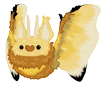 Southern Flannel Moth Dacbat by Raidac