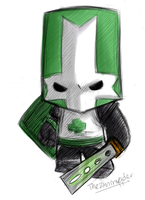 Green Knight sketch by theziminvader