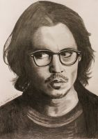 Johnny Depp by MYC-ART