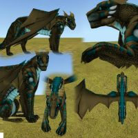 Korour Dragon Preset by blackVbrides