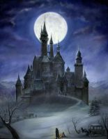 Gothic Castle Reworked by dashinvaine