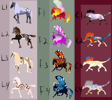 Awry Starter Draw to Adopts :CLOSED: by Whitelupine