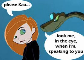 kaa and kim possible by kaaprofile
