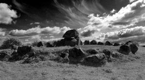 Dolmen - Carrowmore Megalithic Cemetery by CleaLlyfr