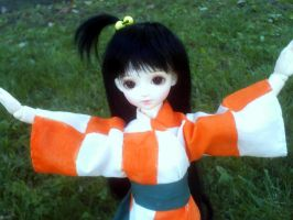 BJD Rin from Inuyasha by Nimsaychii