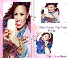 Demi Lovato Png Pack by LoweHearts