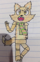 furball the cat by Pink-Power-Frenzy